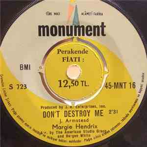 Margie Hendrix - Don't Destroy Me / Jim Dandy mp3 album