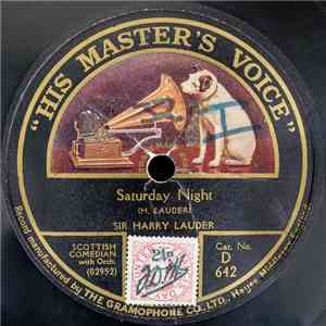 Sir Harry Lauder - Saturday Night / Bella, The Belle 'O Dunoon mp3 album