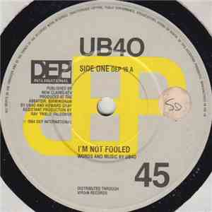 UB40 - I'm Not Fooled / The Pillow mp3 album